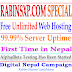 Free Unlimited Web Hosting in Nepal