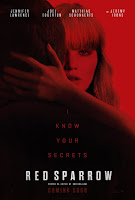 (18+) Red Sparrow (2018) Full Movie English 480p CAMRip 700mb Download