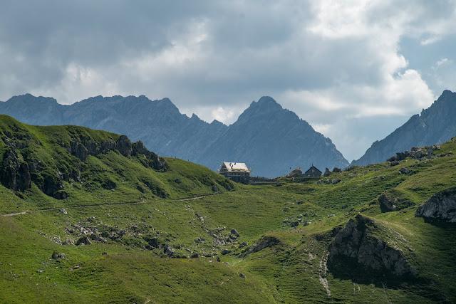 Bergtour Rappenstein von Steg  Wandern Fürstentum Liechtenstein 13