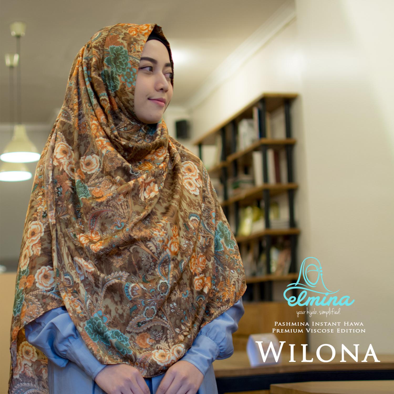 Hijab Syar i yang Cantik nan Anggun Ya Hijab Elmina