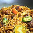 ping's pickings: Penang Style Indian Mee Goreng (Fried Noodles)