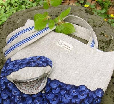 сумка с черникой, sewing, coin purse