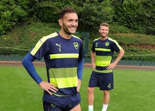 Arsenal v PSG Training