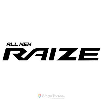Toyota Raize Logo Vector