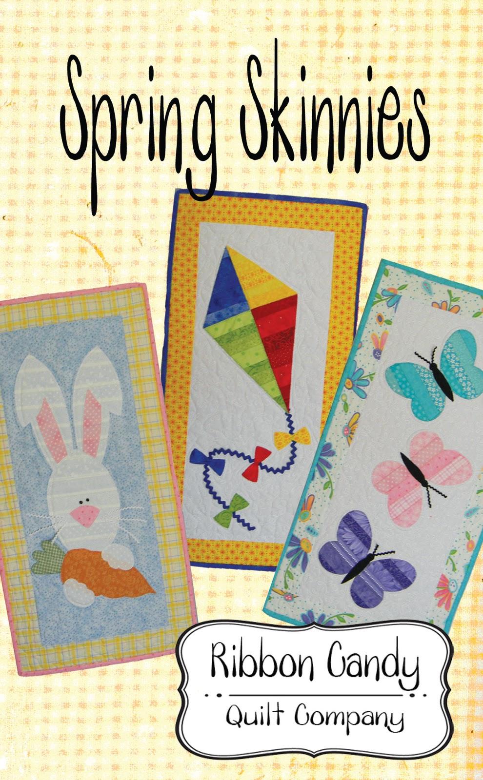 Ribbon Candy Quilt Company Seasonal Skinnies Patterns