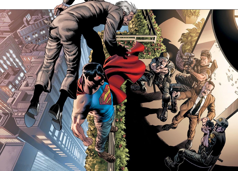 Rags Morales Superman