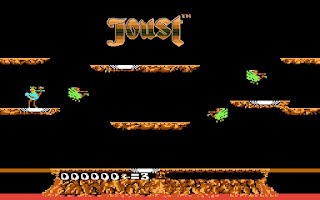 Pantallazo videojuego Joust