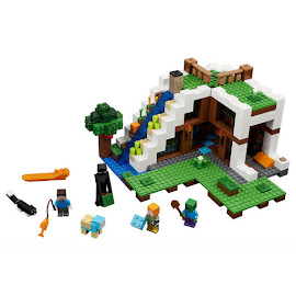 Minecraft Secret Waterfall Escape Lego Set