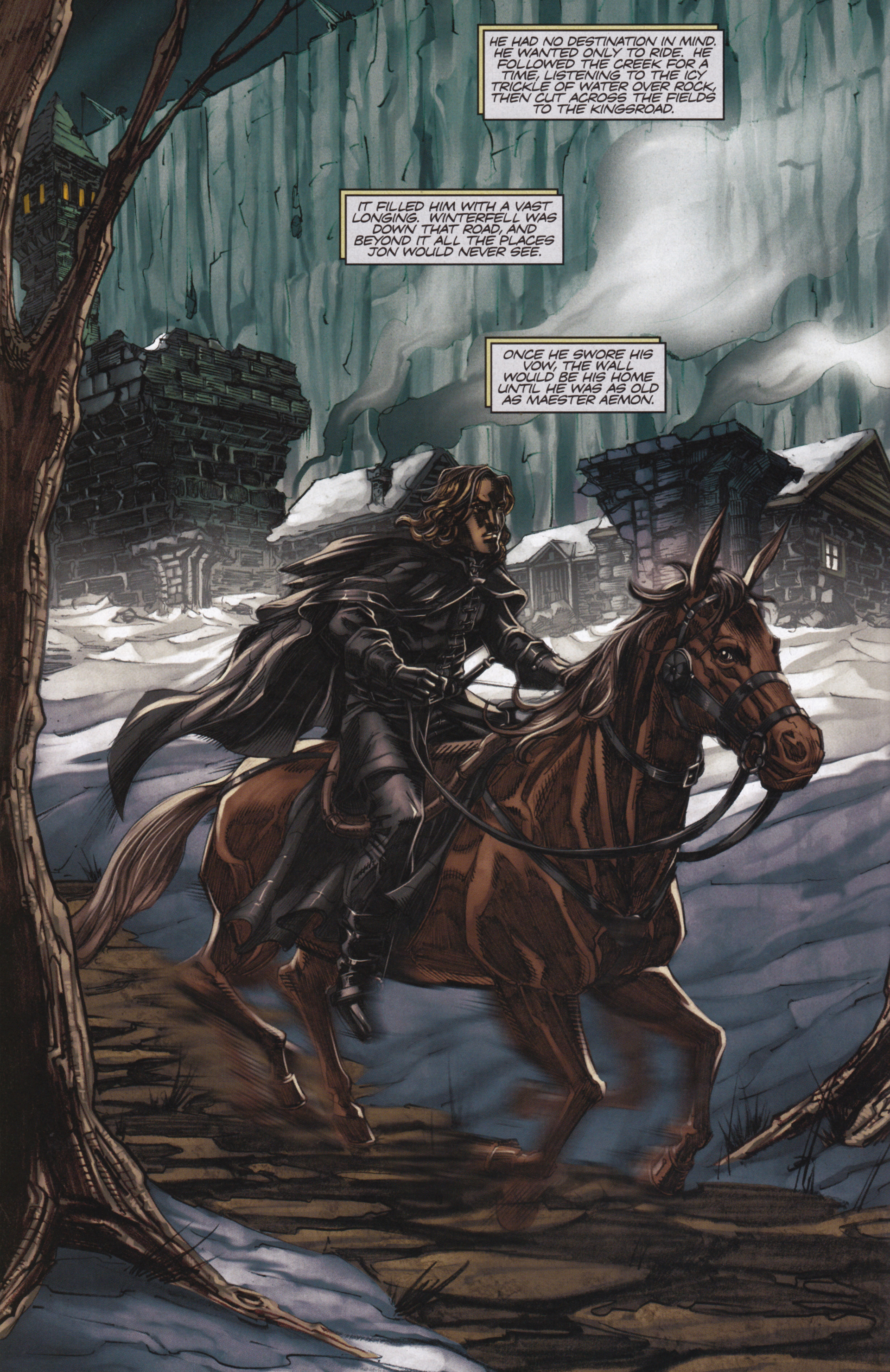 Read online A Game Of Thrones comic -  Issue #13 - 14
