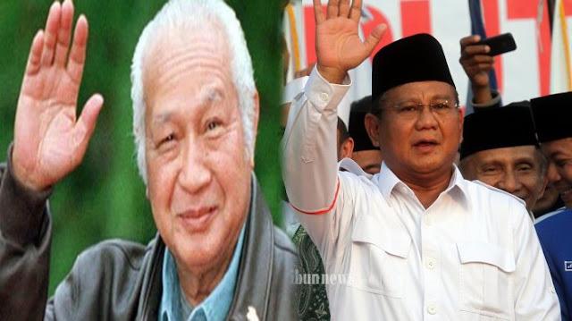 Prabowo Sebut Soeharto Berkali-kali Selamatkan Negara dari Krisis