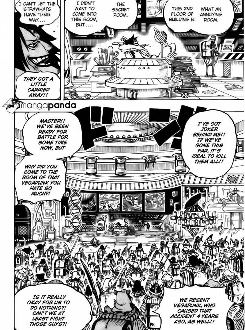 One Piece 684 : Stop it, Vegapunk
