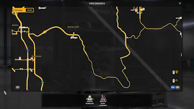 American Truck Simulator US 50 & CA 99 EXTENSIONS Map Download MODs