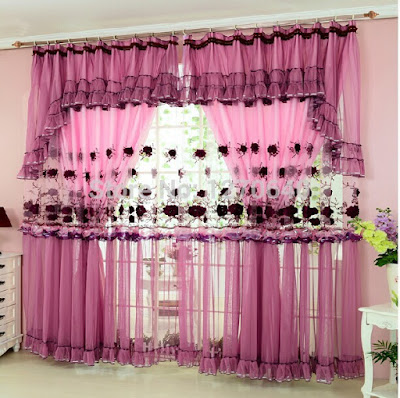 embroidery on curtains for two windows next to each other in bedroom, bedroom window treatments