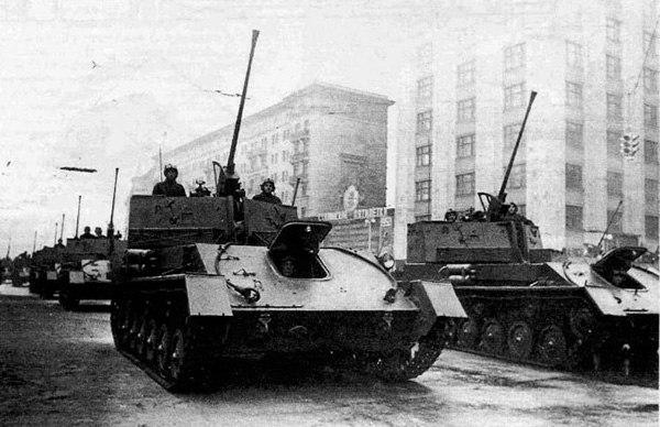 Зенитная самоходная установка ЗСУ-37
