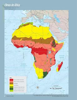 Apoyo Primaria Atlas de Geografía del Mundo 5to. Grado Capítulo 2 Lección 3 Climas de África