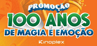 Cadastrar Promoção Kinoplex 2017 Cem Anos Cem Ingressos