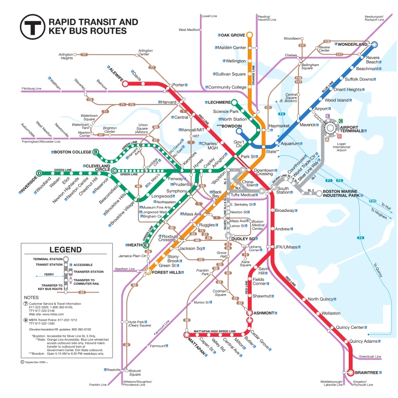online maps: boston bus map