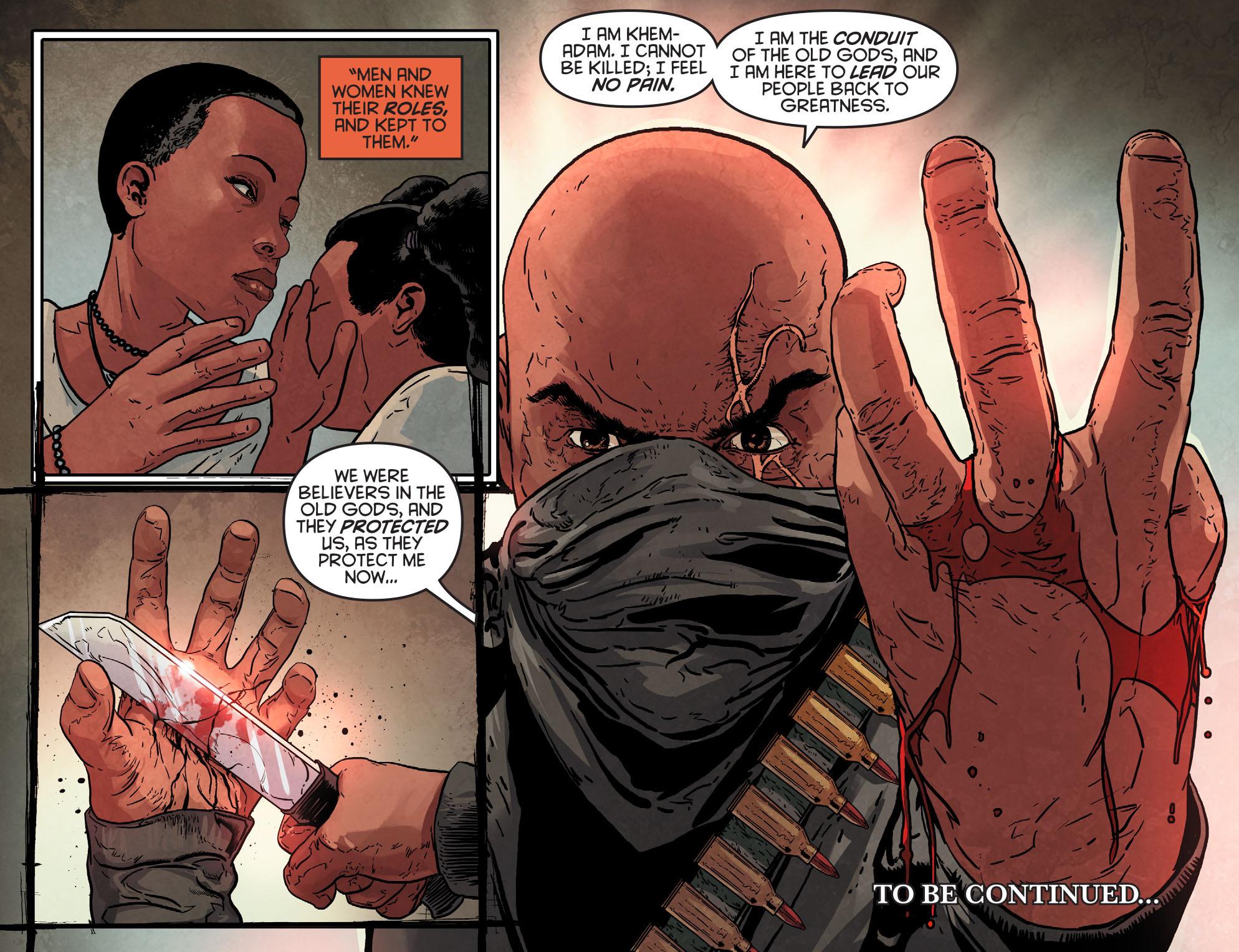 Read online Arrow: Season 2.5 [I] comic -  Issue #5 - 22