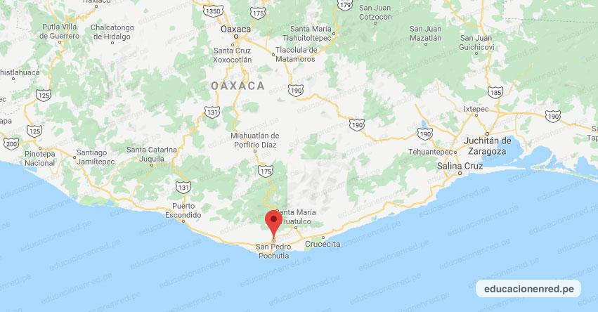 Temblor en México de Magnitud 4.1 (Hoy Sábado 25 Julio 2020) Sismo - Epicentro - San Pedro Pochutla - Oaxaca - OAX. - SSN - www.ssn.unam.mx
