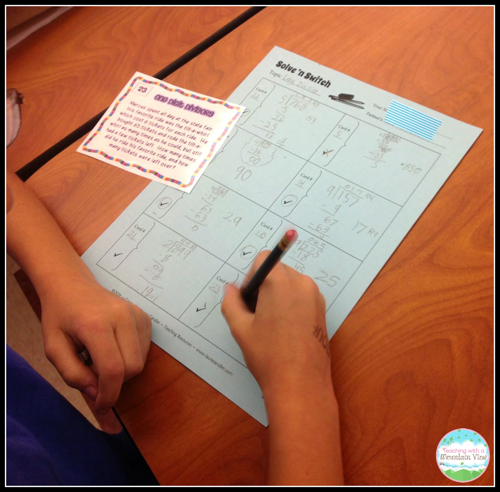 Task Card Corner: Cooperative Learning With Task Cards
