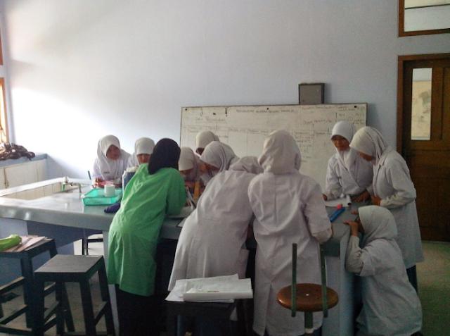 Petunjuk Pembuatan Laporan praktikum Biologi