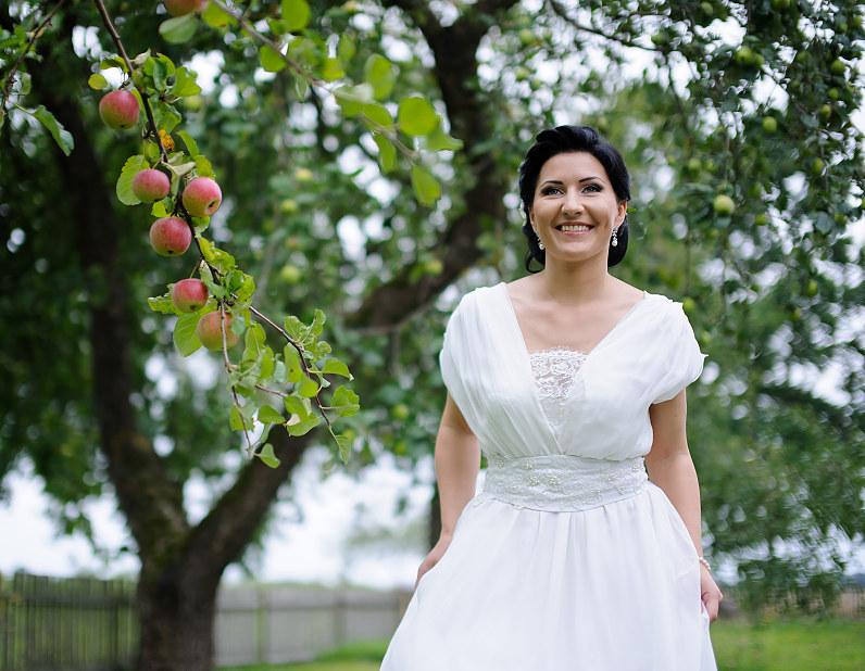 vestuvės sode