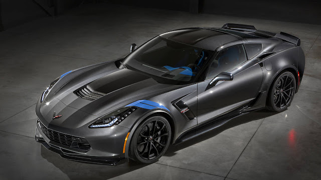 2017 New Chevy Corvette Grand Sport starting Price Front view