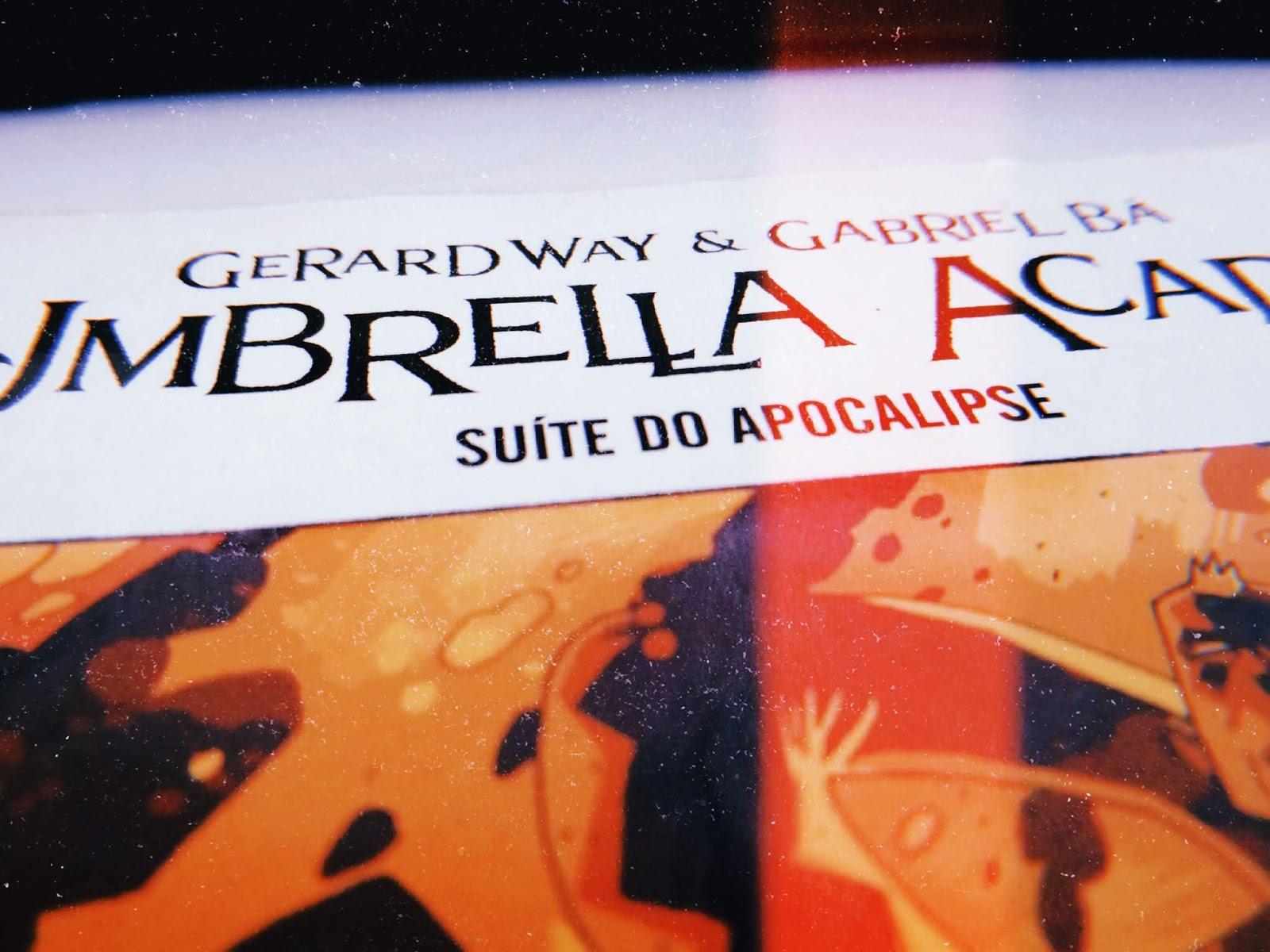 Umbrella Academy: Suíte do Apocalipse, de Gerard Way e Gabriel Bá (#52)