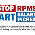 Stop RPMS, Start SALARY INCREASE for TEACHERS