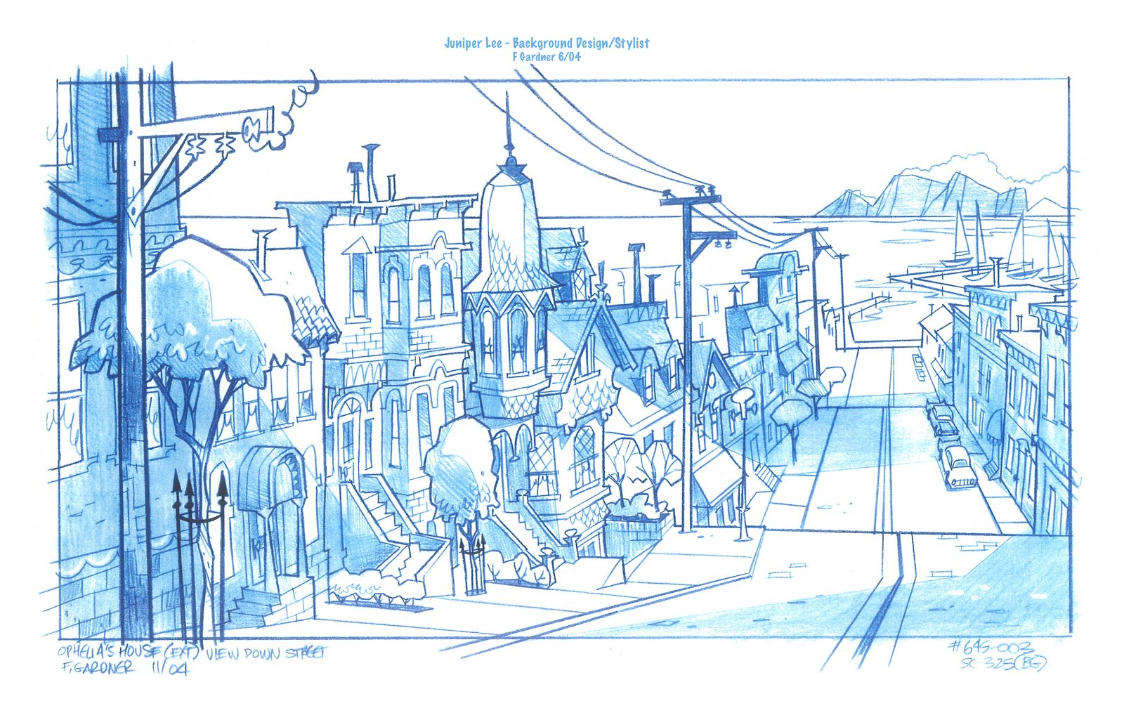 Cartoon Concept Design Juniper Lee Background Design By