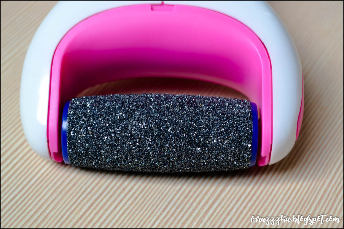 Электрическая роликовая пилка Scholl Velvet Smooth Diamond Crystals Pink ОтзывЭлектрическая роликовая пилка Scholl Velvet Smooth Diamond Crystals Pink Отзыв
