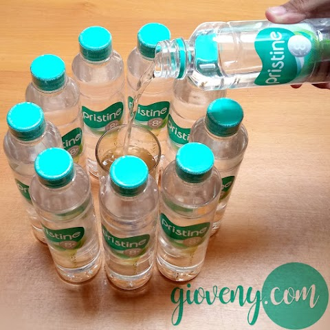 Minum Pristine 8+, Awal Hidup Sehat