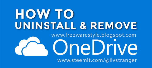 remove onedrive from windows 10