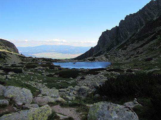 Staw nad Skokiem (słow. pleso nad Skokom, niem. Skoksee, węg. Szkok-tó; 1801 m n.p.m.).
