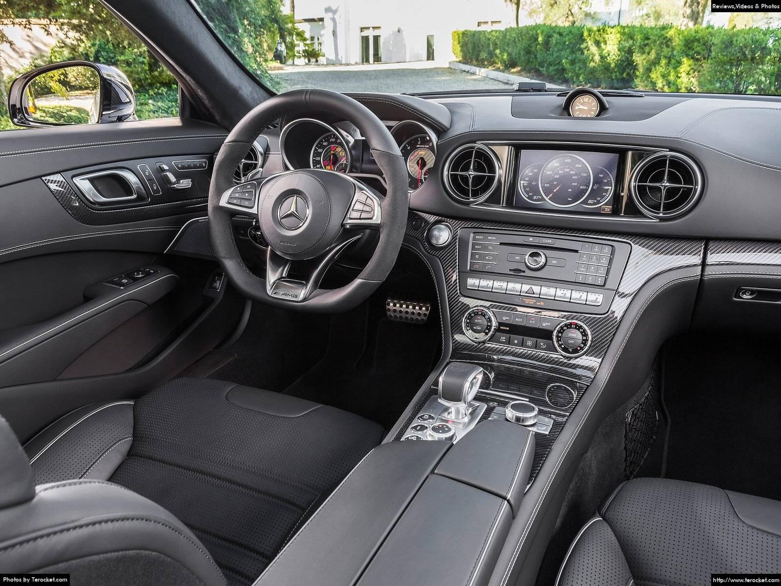 Hình ảnh xe ô tô Mercedes-Benz SL63 AMG 2017 & nội ngoại thất