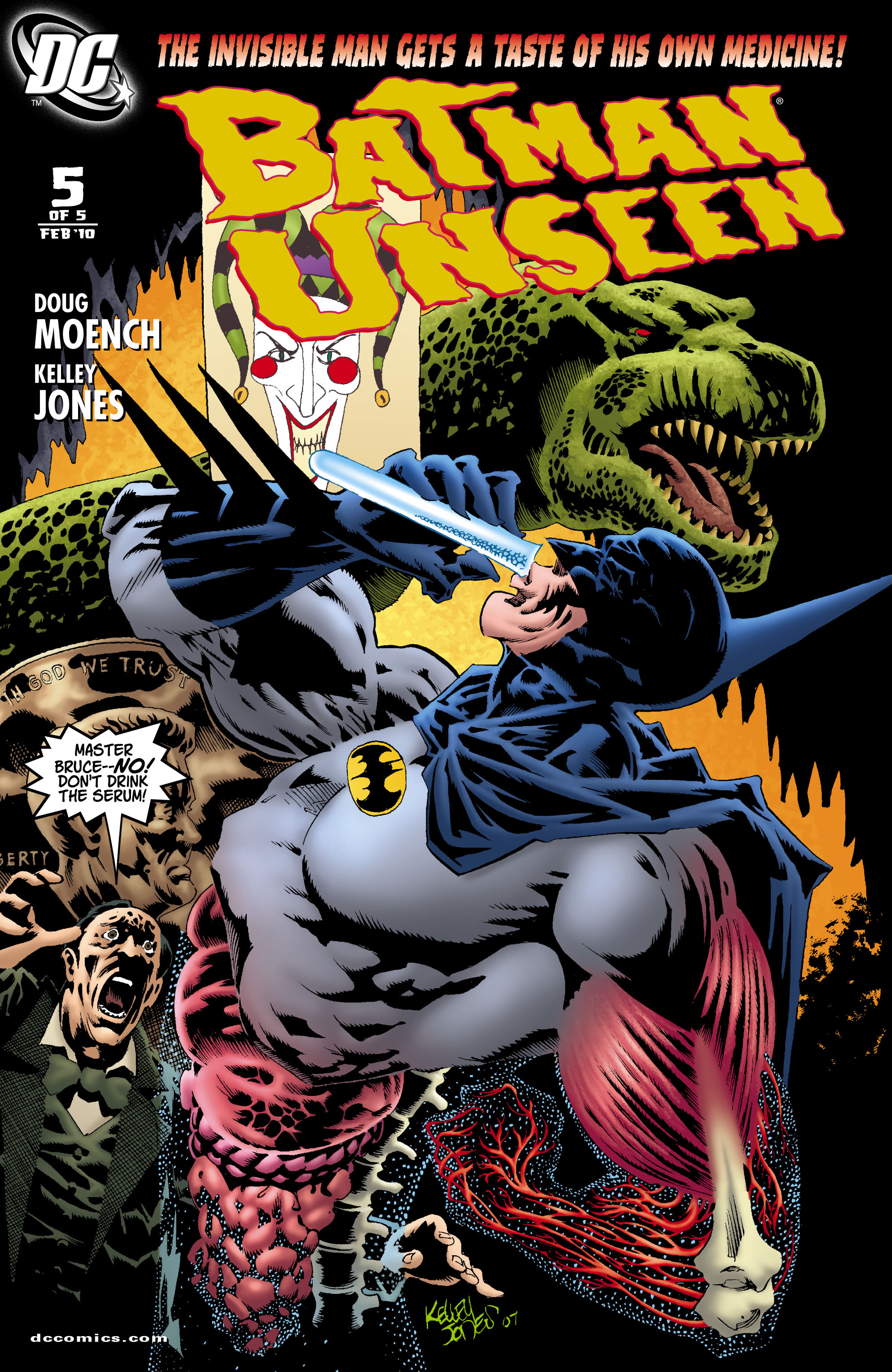 Batman: Unseen 5 Page 1