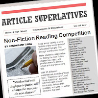 Article Superlatives: Non-Fiction Reading Competition