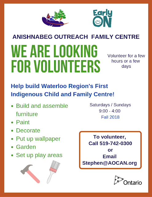 Poster seeking volunteers