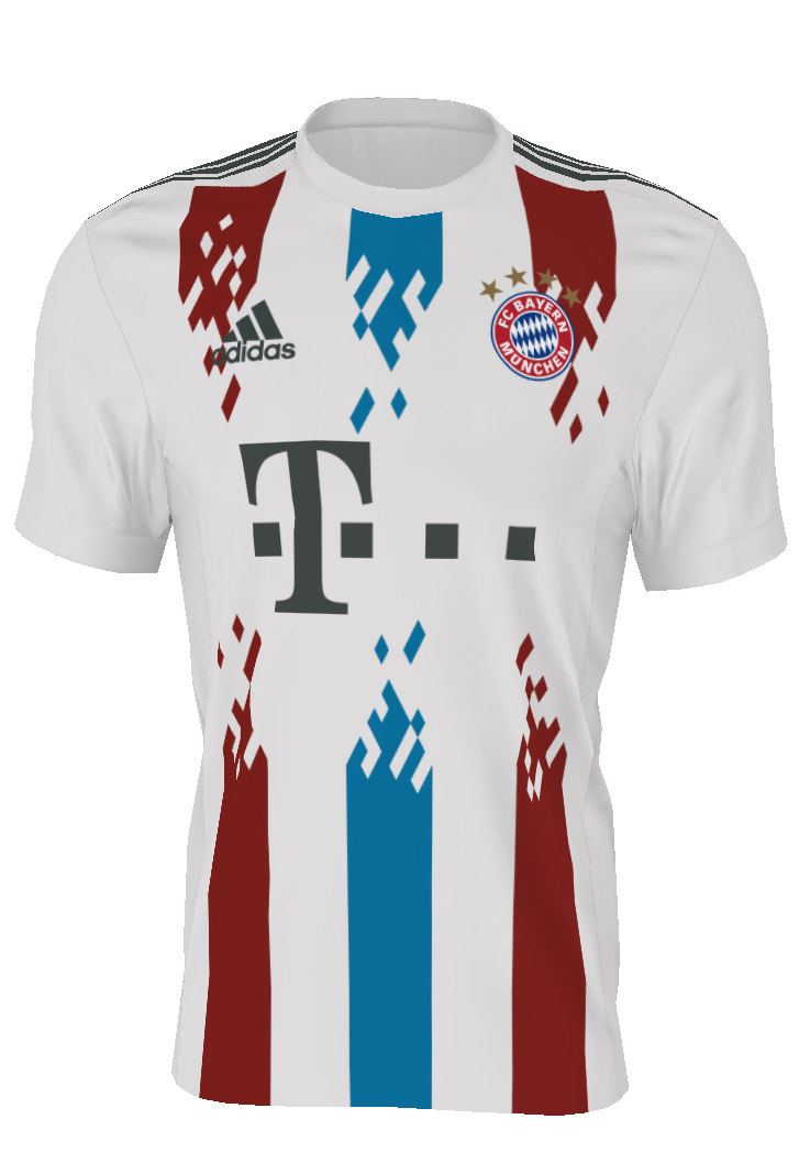 e4a10c15f464d Torcedores criam a nova camisa do Bayern de Munique  confira as ...