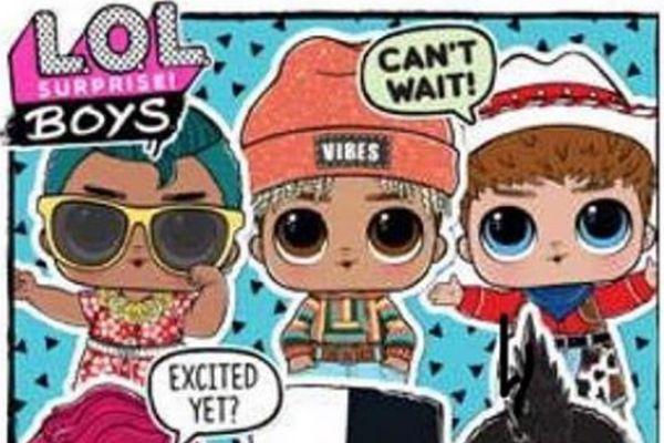 Мальчики Лол Сюрприз получат отдельный релиз L.O.L. Surprise Boys Series
