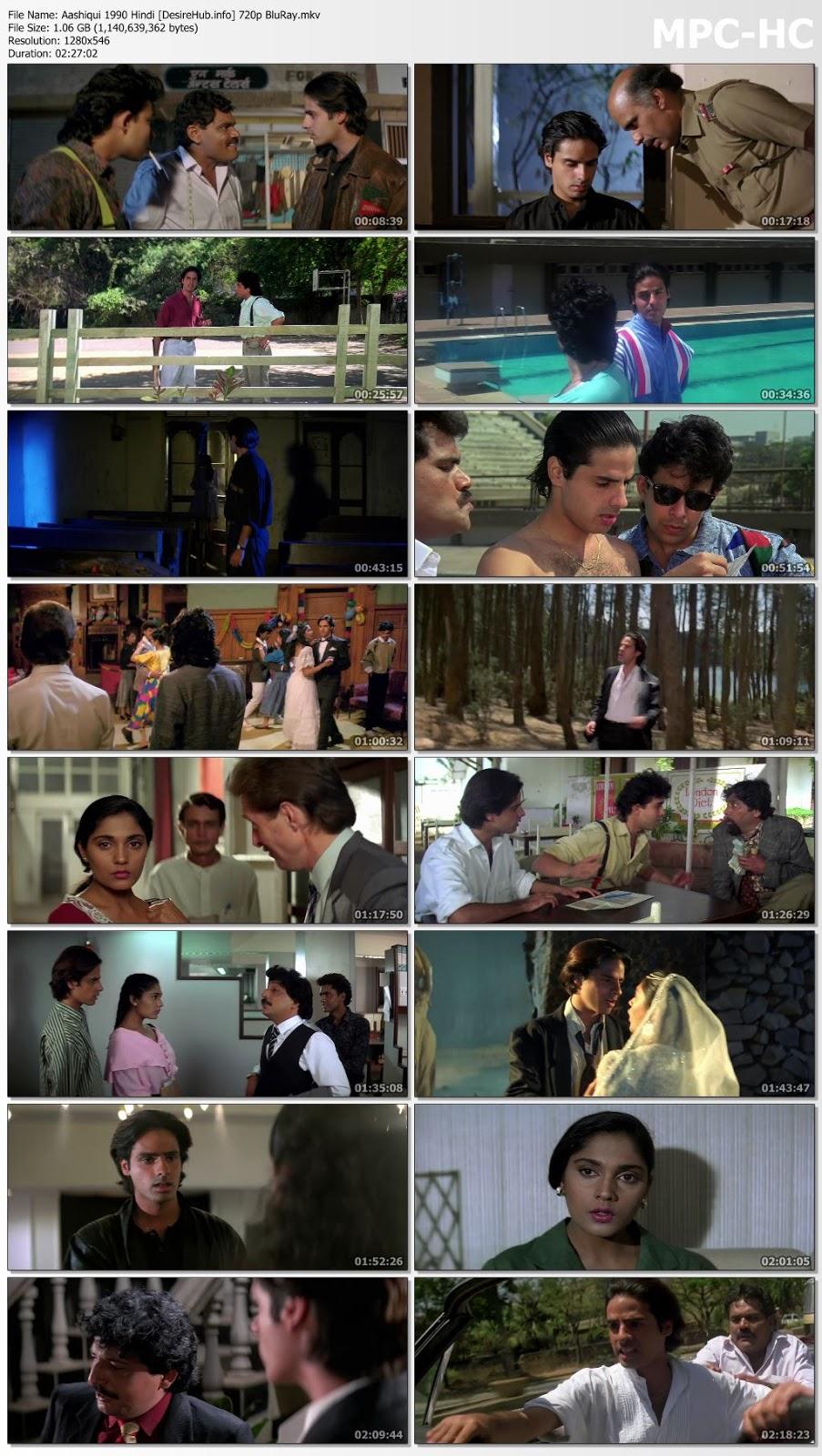 Aashiqui 1990 Hindi 480p BluRay 400MB Desirehub