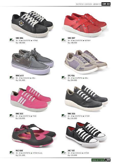 Katalog Produk Terbaru CBR 6 SIX 2017-2018 Sepatu dan Sendal