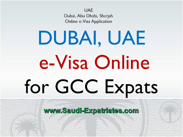 Online Application for Dubai Visa