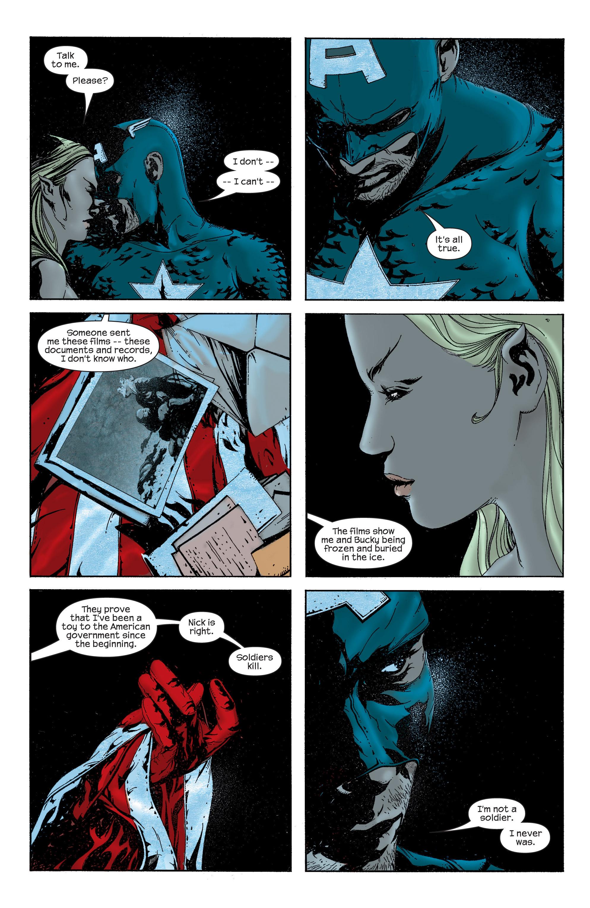 Captain America (2002) Issue #13 #14 - English 9