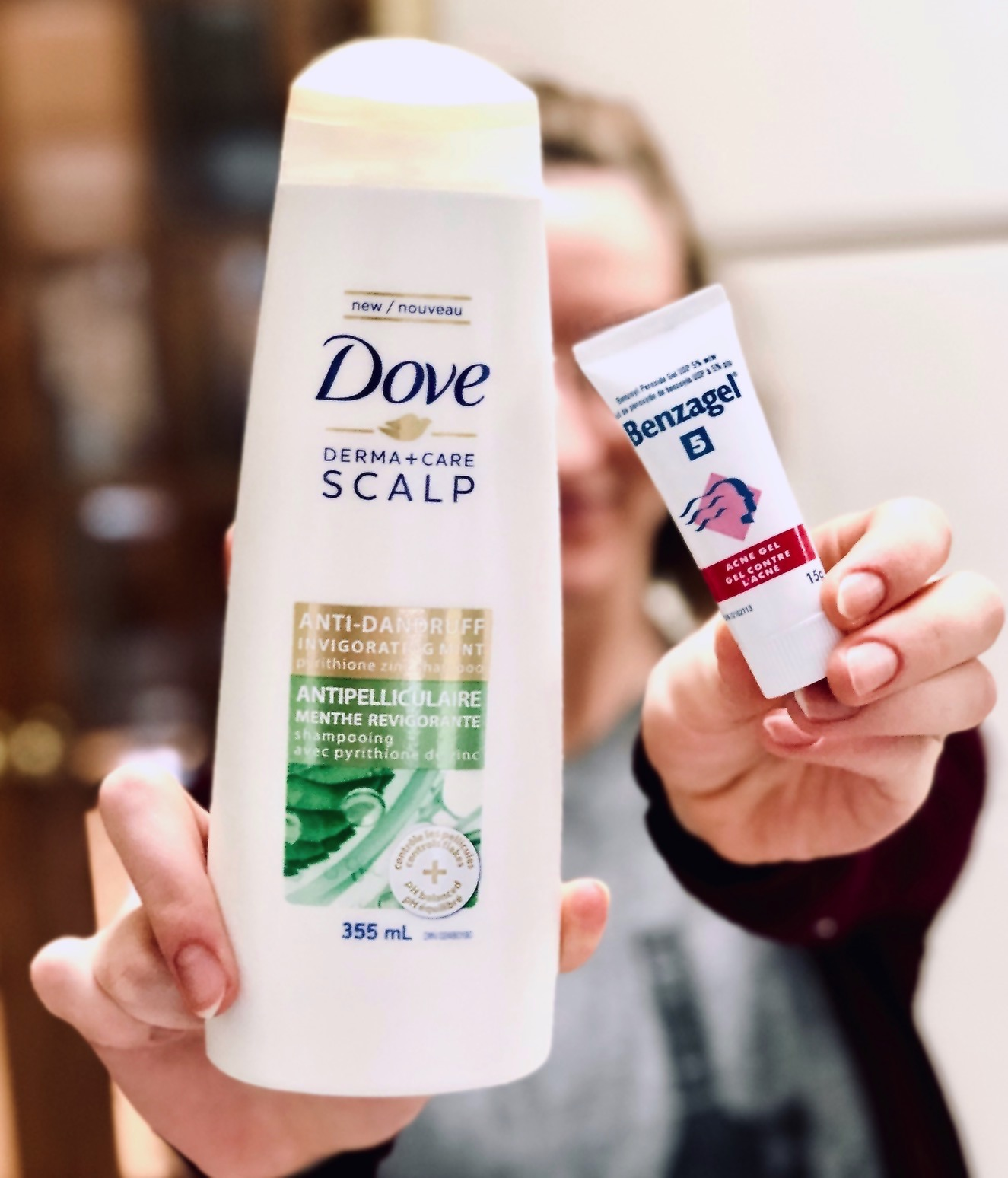 how to get rid of dandruff drugstore products