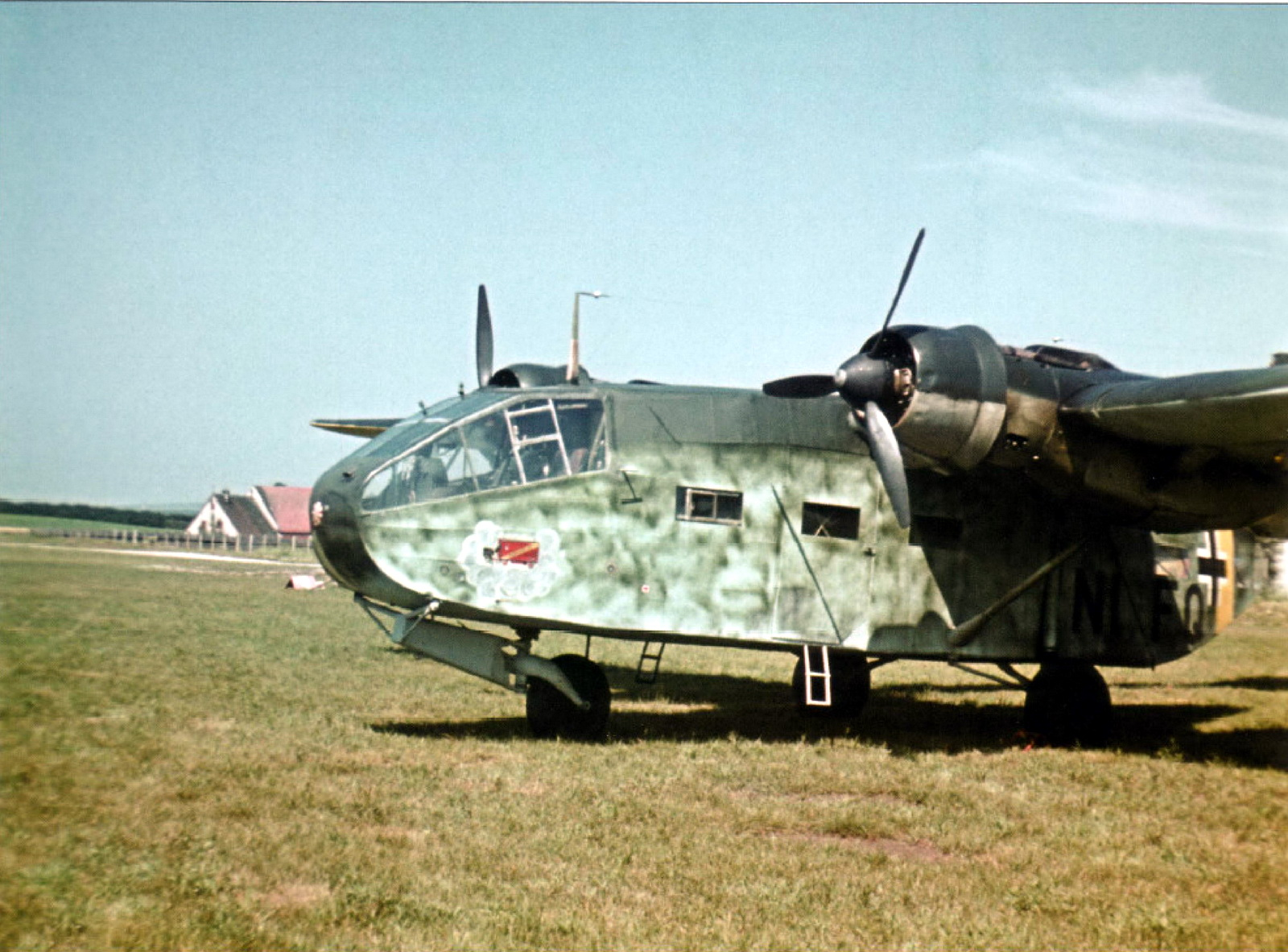 World War II In Color Gotha Go 244