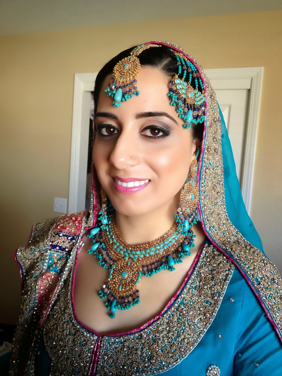 bella airbrush makeup & hair design: pakistani bridal makeup