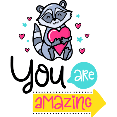 You Are Amazing Sticker
