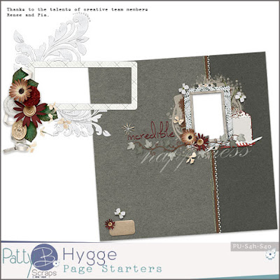 New Hygge Collection from PattyB Scraps