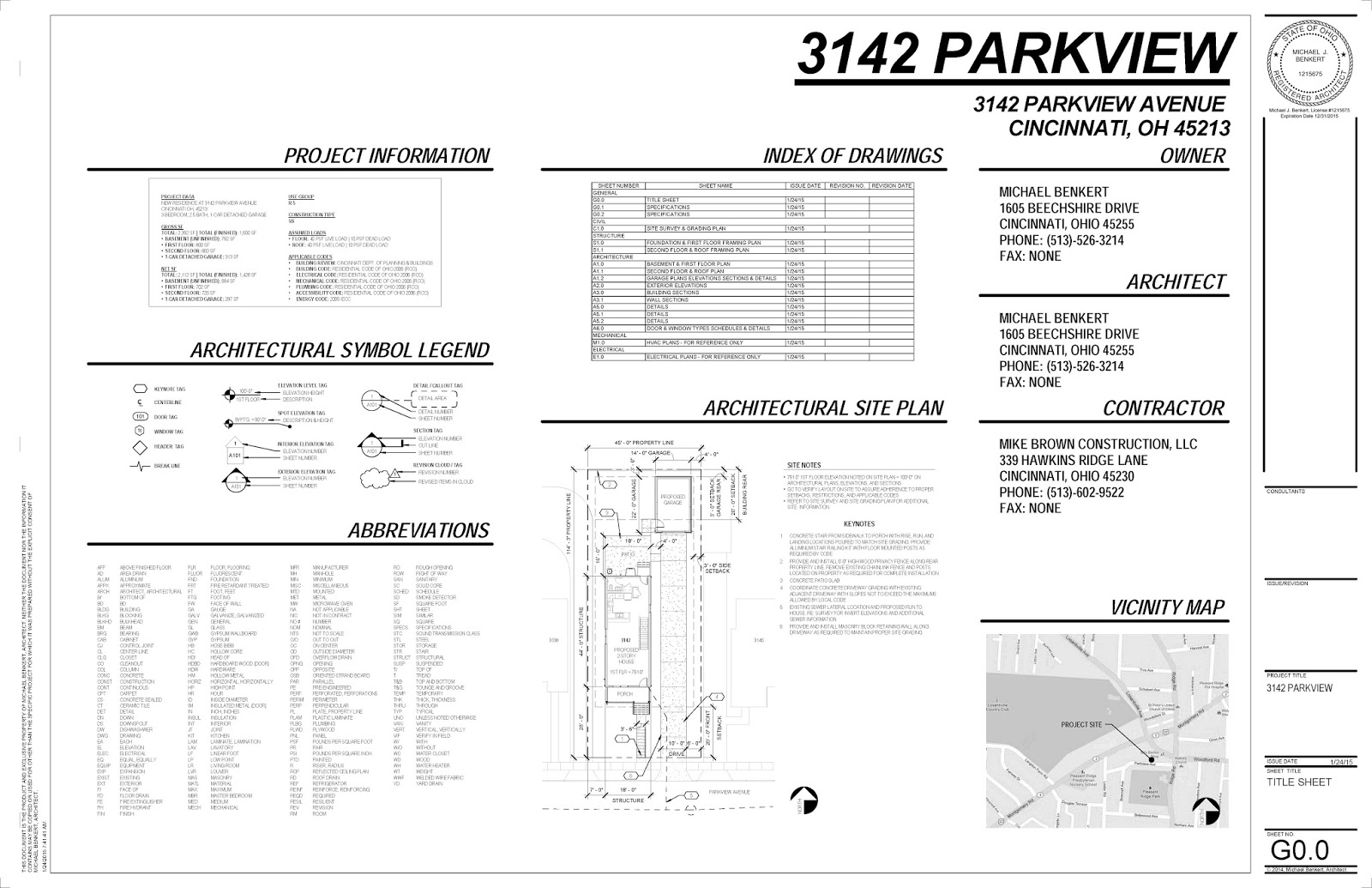 Home 20 Blog PERMIT DRAWINGS – Site Plan Abbreviations